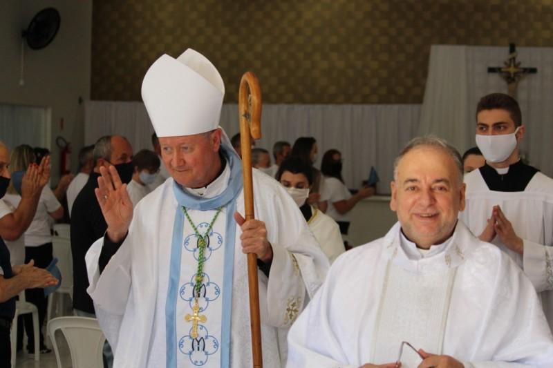 Dom Jacinto e Padre Miro. Foto: Divulgação/Engeplus
