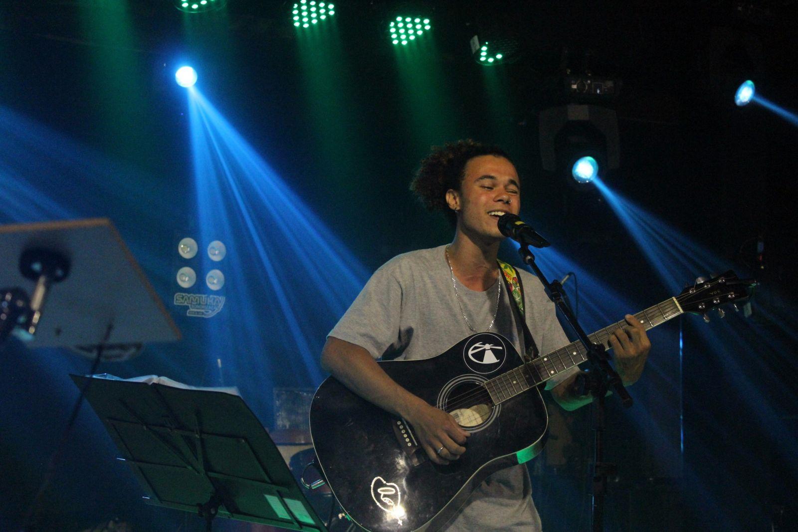 Guilmer está iniciando a carreira musical. Foto: Jean Carlos Nesi