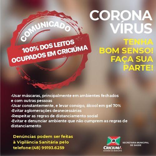 Imagem: Instagram Prefeitura de Criciúma