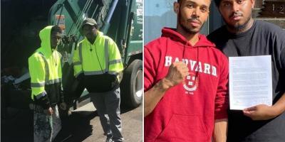 ESTADOS UNIDOS: Aluno que trabalhava como lixeiro entra em Harvard