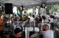 Ponto do Samba abre programação do bloco Folia Carvoeira em Criciúma