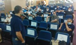 Equipe que vai atuar no Serviço Aeromédico passa por treinamento na AMREC
