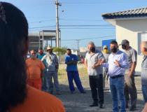 Com diálogo e próximo do servidor público, Fernando de Faveri cumpre primeiro dia de trabalho como prefeito