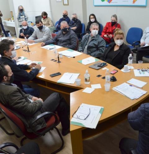 Plano de desenvolvimento regional volta à pauta na reunião de prefeitos