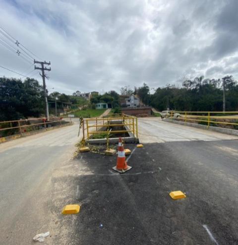 Ponte da Linha Braço Cocal será inaugurada nesta quarta-feira