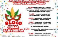 Bloco Carnavalesco Folia Carvoeira enterra a tristeza nesta sexta