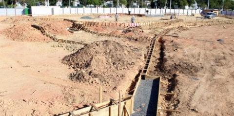 Skatepark começa a ganhar forma no Parque Municipal Prefeito Altair Guidi
