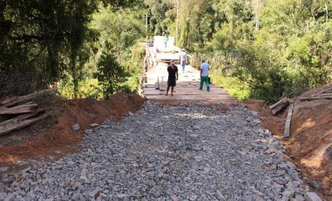 Governo de Lauro Müller libera tráfego em ponte do Km 107 após melhorias
