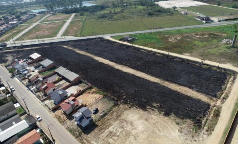 Drone é usado para identificar queimadas