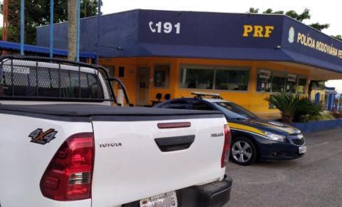 PRF prende quadrilha de estelionatários que aplicavam o golpe do carro locado