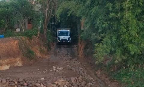 Obra de estabilização do talude do Rio Tigre é realizada no Jardim Elizabeth