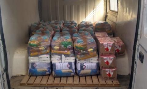 Urussanga: Aportes nutricionais são entregues a famílias em situação de vulnerabilidade social