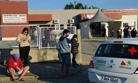 Prefeitura de Cocal do Sul irá adquirir cinco mil testes rápidos para testar a população