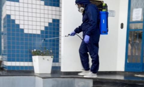 SAMAE passa por testagem e sanitização contra o Coronavírus em Cocal do Sul