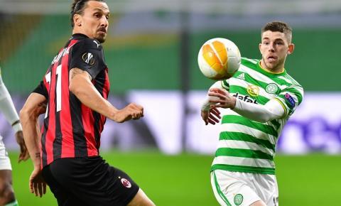 Milan vence Celtic na Escócia pela Liga Europa e completa 22 jogos sem perder