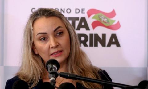 Daniela Reinehr assume governo de Santa Catarina interinamente