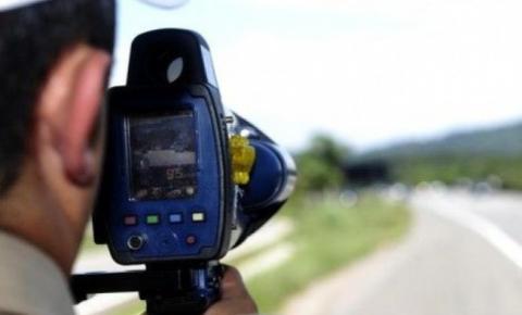 Excesso de velocidade: PMRv flagra veículo a 115km/h em trecho com permissão para 80km/h na SC-108
