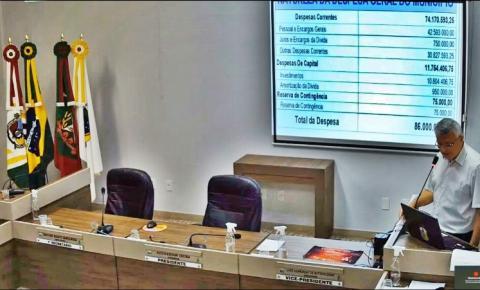 Audiência pública apresenta Orçamento de Cocal do Sul para 2021