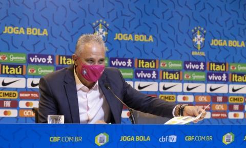 Os convocados da Seleção Brasileira para as partidas contra Venezuela e Uruguai