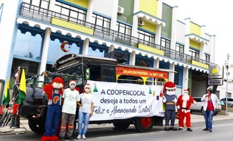 Em tempos de pandemia Coopercocal usa criatividade para manter clima natalino