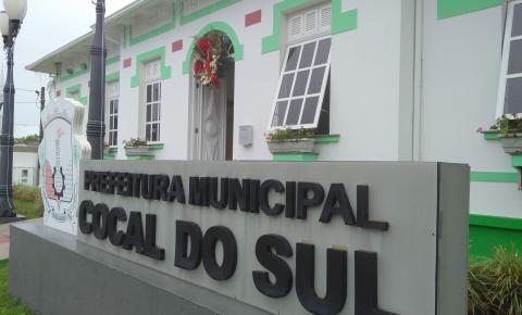 Servidores públicos de Cocal do Sul recebem amanhã a segunda parcela do 13º