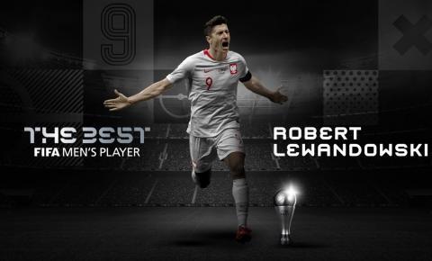 Robert Lewandowski é eleito o melhor jogador do mundo