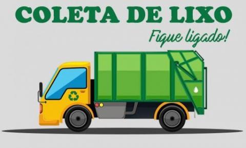 Coleta de lixo será antecipada nos feriados de final de ano