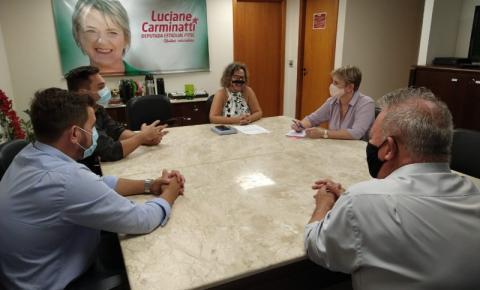 Vice-prefeito vai à capital em busca de recursos para Cocal do Sul