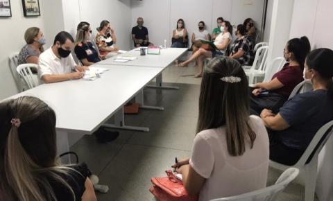 Volta às aulas: professores de Cocal do Sul passam por treinamento