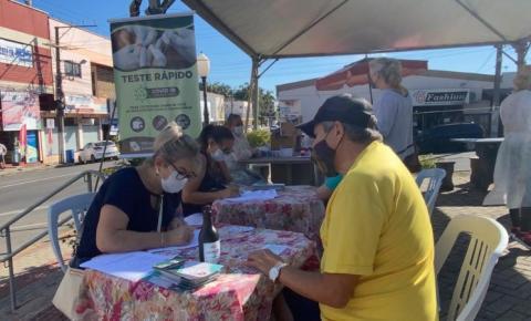 Cocal do Sul: mutirão de testes rápidos segue ao longo da semana