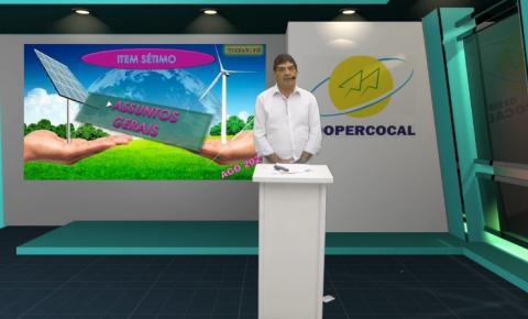Coopercocal realiza 1ª assembleia digital e tem todas as pautas aprovadas pelos associados