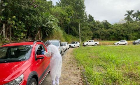 Covid-19: 150 idosos são vacinados em Cocal do Sul