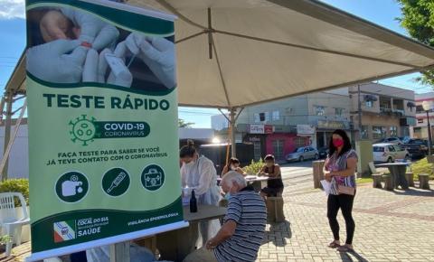 No Dia Mundial da Saúde, Cocal do Sul realiza mutirão de testes rápidos