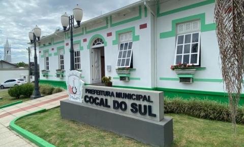 Prefeitura de Cocal do Sul divulga balanço dos primeiros 100 dias de governo