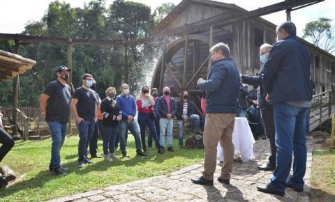 Museu ao Livre recebe recursos da prefeitura de Orleans para restauro e manutenção