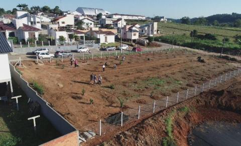 Área do bairro Vila Nova é recuperada em Cocal do Sul