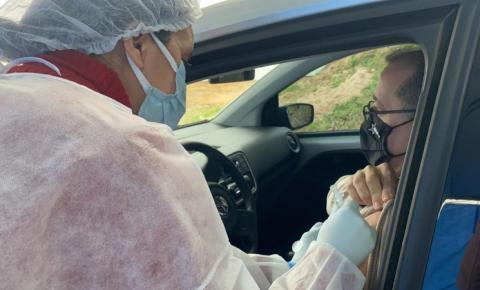 Covid-19: pessoas de 44 e 45 anos serão vacinadas nesta sexta-feira
