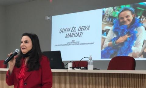 Prefeitura de Cocal do Sul promove encontro para fortalecer e motivar profissionais da Educação