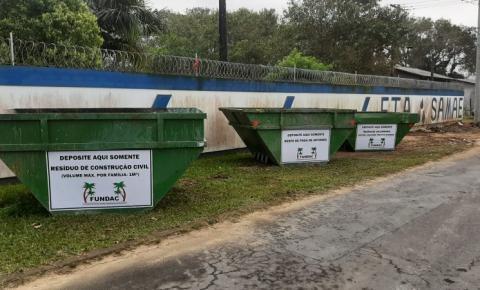 Projeto pioneiro busca alternativas para descarte correto de resíduos