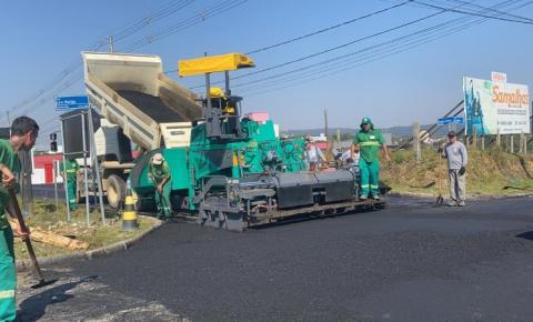 Com investimento de R$ 1 milhão, Cocal do Sul ganhará pavimentação asfáltica em três vias