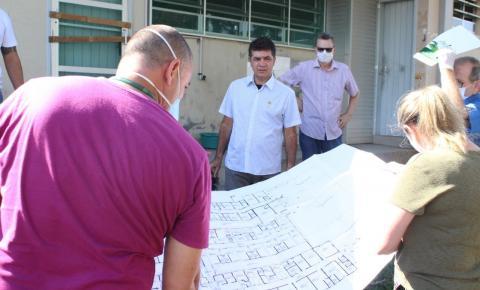 Governo de Criciúma realiza visita técnica na antiga Casa de Saúde do Rio Maina