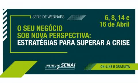 SENAI realiza webinars gratuitos com foco em estratégias de negócio e desenvolvimento de lideranças