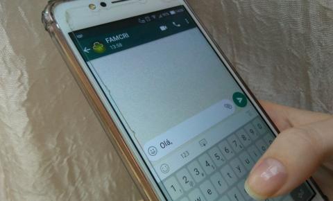 Famcri lança canal de atendimento via Whatsapp para informações e denúncias
