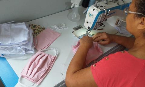 Governo Municipal orienta população para uso de máscaras caseiras